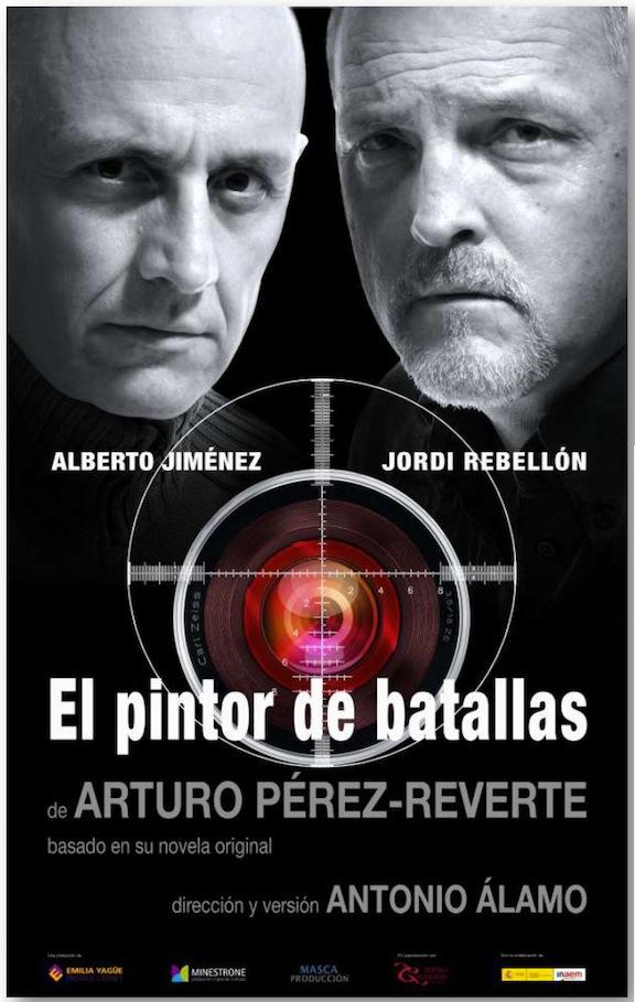 El pintor de batallas - teatro cartel 2