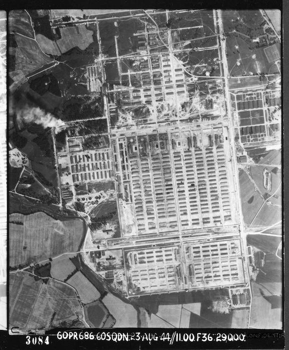 Foto aérea de Auschwitz (RAF)