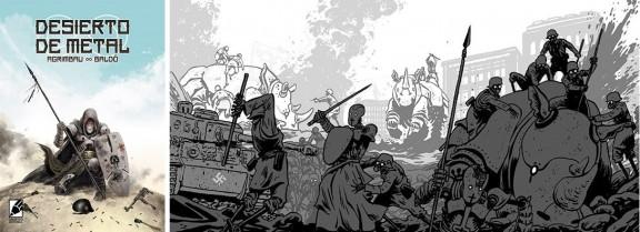 Desierto de Metal (2017) comic
