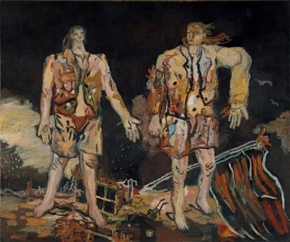 Georg-Baselitz-The-Great-Friends