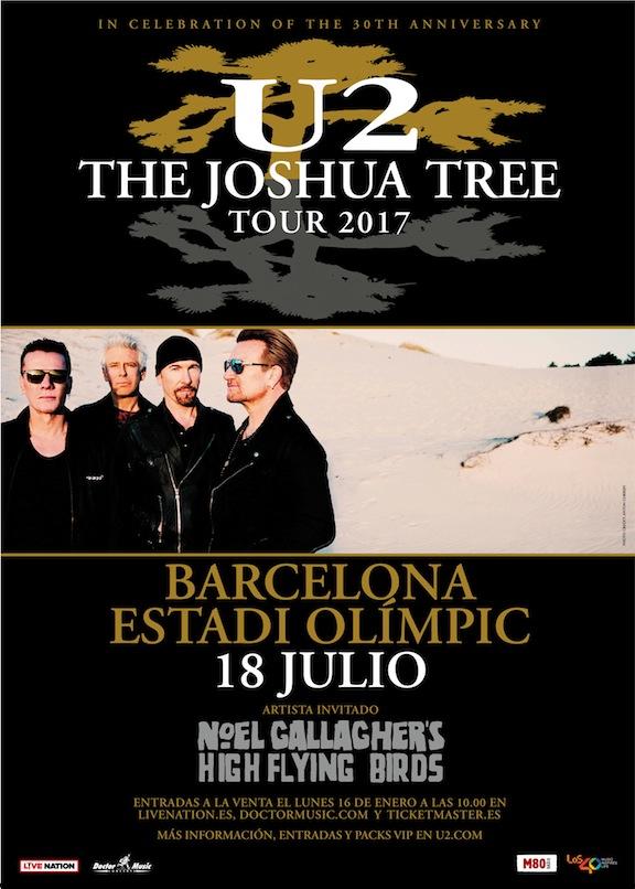 U2-The-Joshua-Tree-Tour-Imagen-cartel