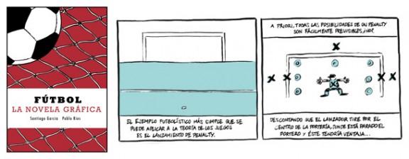Fútbol - Novela gráfica mixta