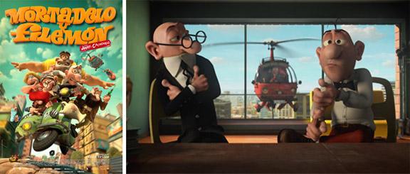 Mortadelo y Filemón contra Jimmy el Cachondo (2014) mixta