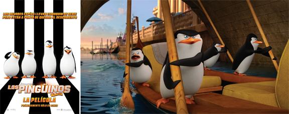 Pingüinos de Madagascar (2014) mixta
