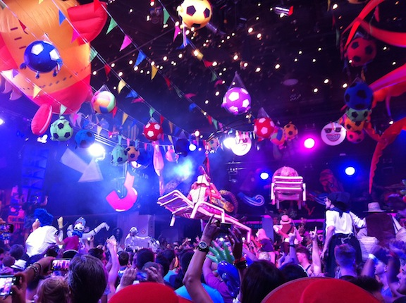 Fiesta en Space Ibiza