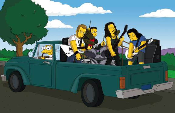 Los Simpson y Metallica