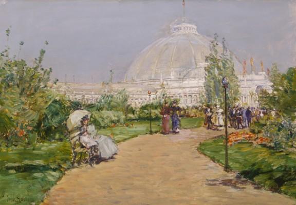 Pabellón de horticultura, Expo Universal Colombina de Chicago (1893) - Childe Hassam