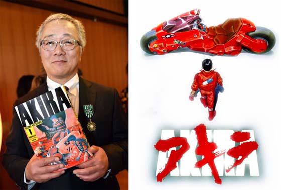 Katsuhiro Otomo mixta