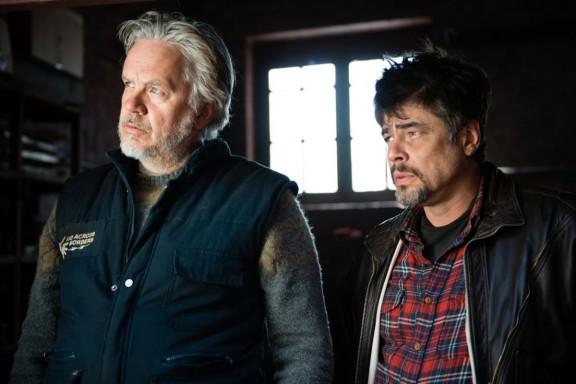 Robbins y Del Toro