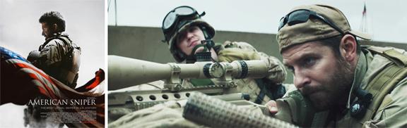 American Snipper (2015) mixta
