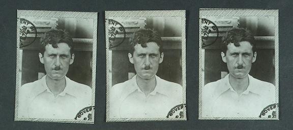 Ficha policial de George Orwell