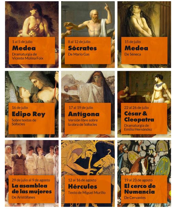 61 Festival de Mérida programación