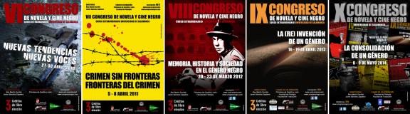 Carteles Congreso Negro 6-10