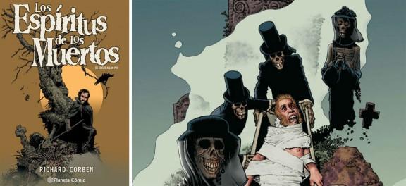 Los espíritus de los muertos de Edgar Allan Poe - Richard Corben 1