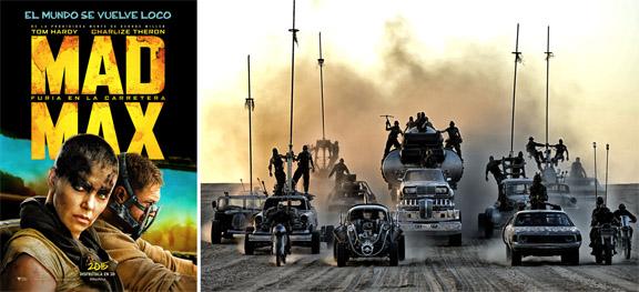 Mad Max Furia en la carretera (2015) mixta