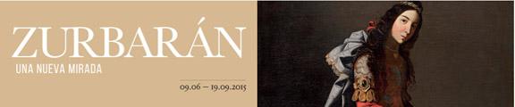 Logo cintillo expo Zurbarán 2015