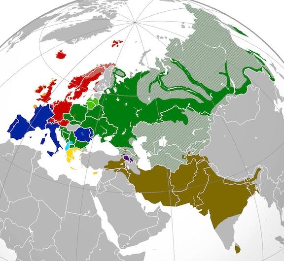 Las lenguas indoeuropeas