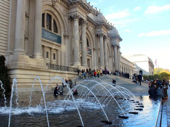 Metropolitan Museum en Nueva York - Escaleras