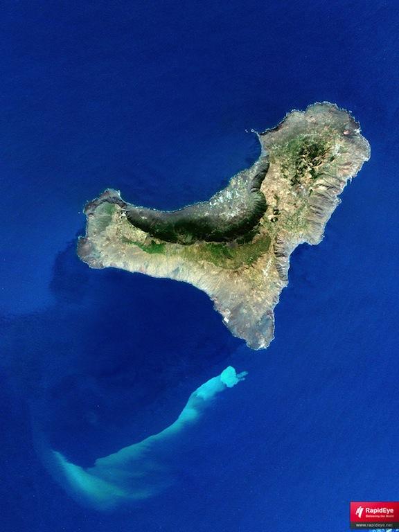 Mapa satélite de El Hierro
