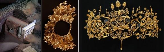 Filipo II Macedonia 3-coronas