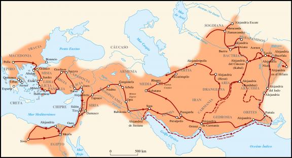 Imperio de Alejandro Magno