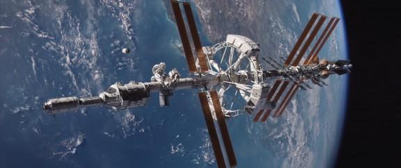 La nave Hermes de la misión a Marte