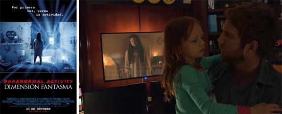 Paranormal Activity Dimensión Fantasma (2015) mixta