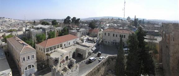 Barrio Armenio desde la Ciudadela