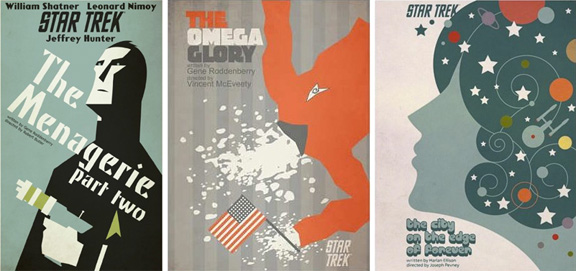 Carteles originales Star Trek 2