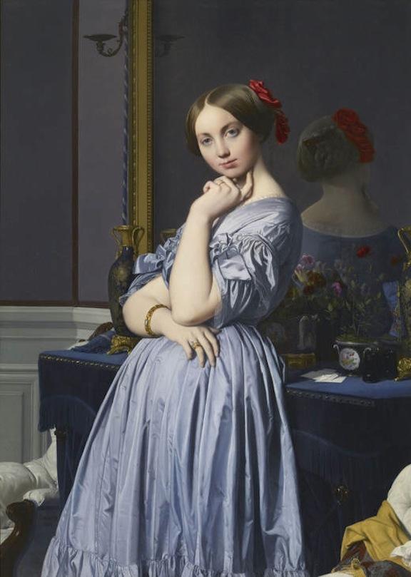 La condesa de Haussonville - Ingres 1845