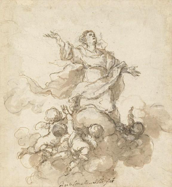 Dibujo de Murillo copia