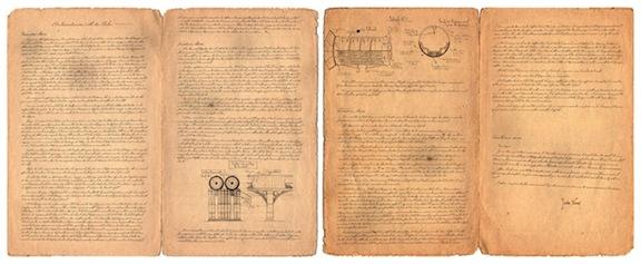 Manuscrito original de Verne