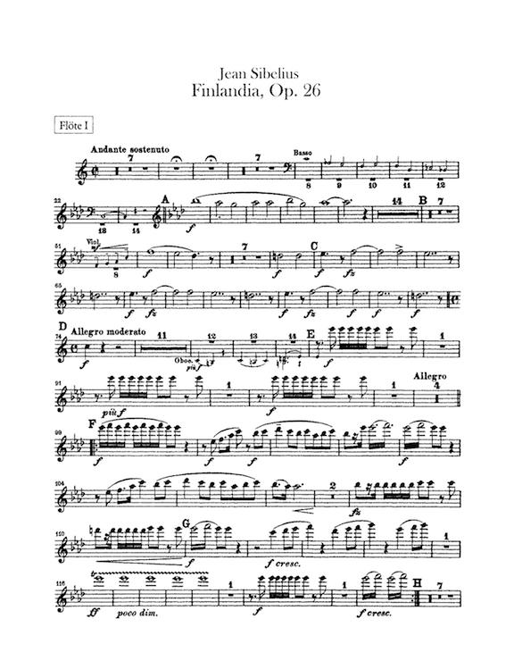 Inicio del poema sinfónico 'Finlandia'