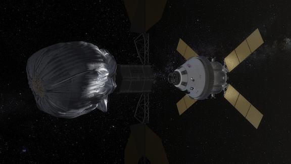 Modelo de captura por embolsamiento de la NASA