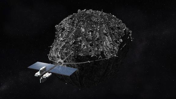 Prototipo de la NASA para captura de asteroide