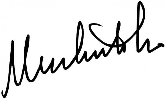 Firma de Umberto Eco