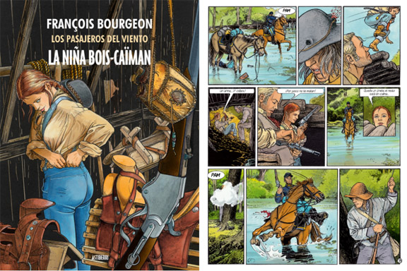 La niña de Bois-Caiman (François Bourgeon) 2016 mixta