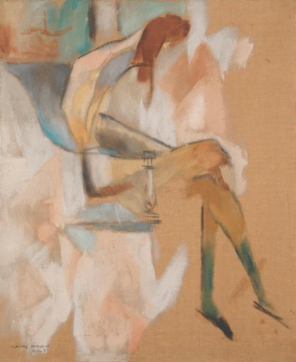 A propósito de la pequeña hermana (Duchamp - 1911)