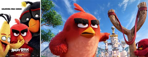 Angry Birds La película (2016) mixta