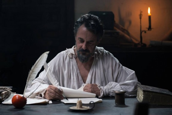 Cervantes, personajede la segunda temporada