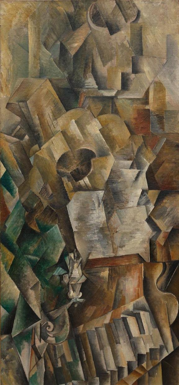 Piano y mandola (George Braque - 1909)