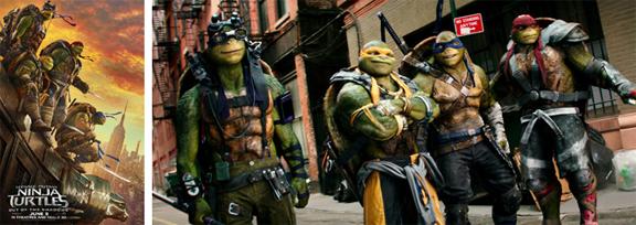 Ninja Turtles Fuera de las sombras (2016) mixta