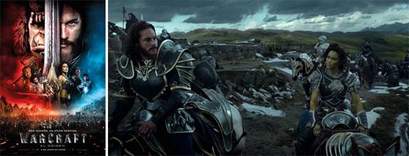 Warcraft El origen (2016) mixta