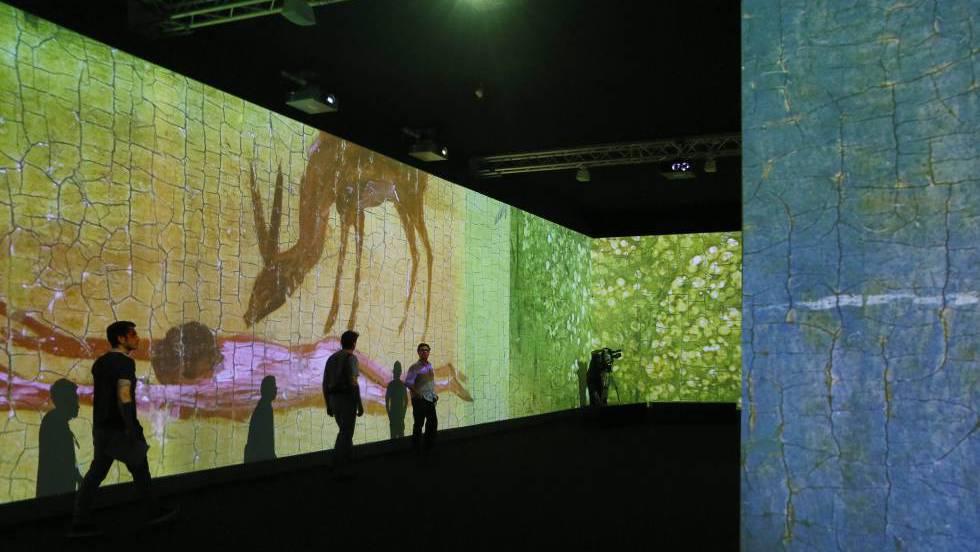 El bosco desde dentro la videoinstalaci n 39 el jard n for El jardin online
