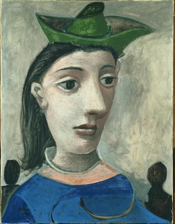 pablo picasso mujer con sombrero verde_es_ES #854771989