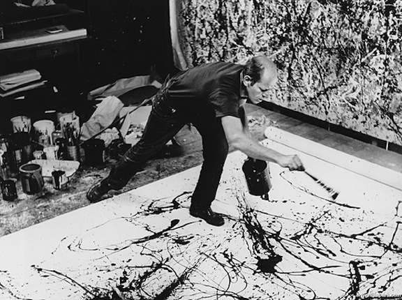 pollock-action-painting