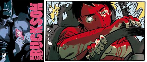 Buckson (2016) comic
