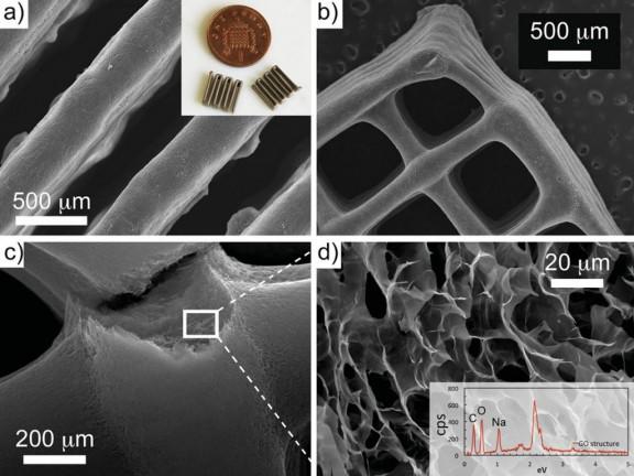 Imágenes microscópicas del grafeno