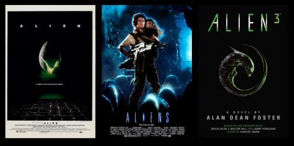 Carteles saga Alien 1