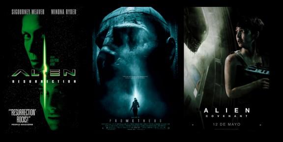 Carteles saga Alien 2